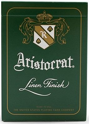 Aristocrat Green Edition Playing Cards - magic