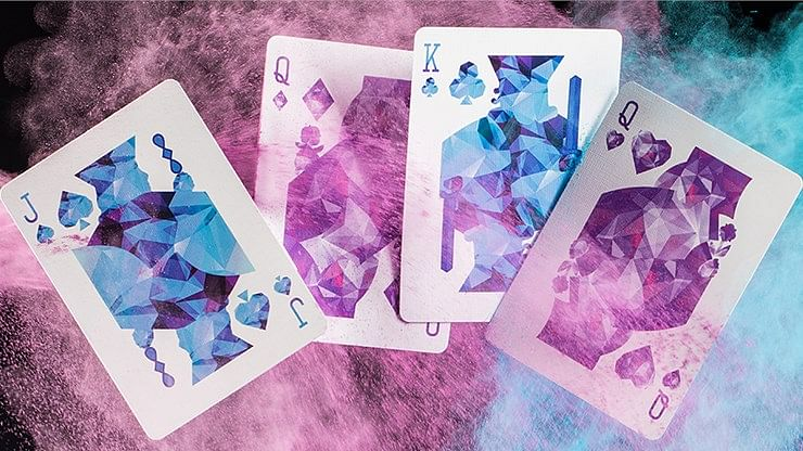 Purple Art of Cardistry Playing Cards