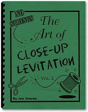 Art of Close Up Levitation Vol 2 - No Strings - magic