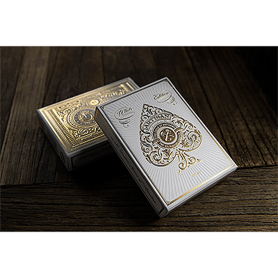 Artisan Playing Cards (White) - magic