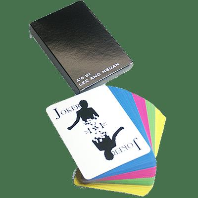 A's Manipulation Deck (Colour) - magic