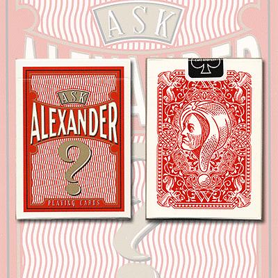 Ask Alexander Playing Cards - magic