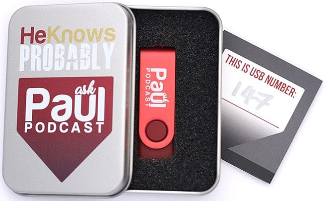 Ask Paul Podcast Package