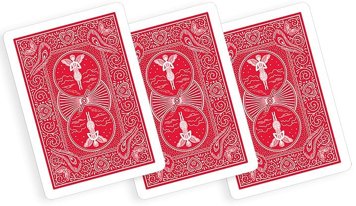 Assorted Mandolin Red One Way Forcing Deck