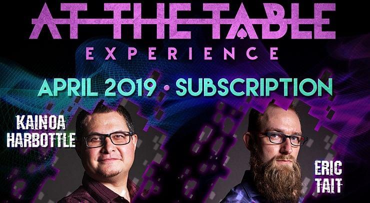 At The Table - April 2019 - magic