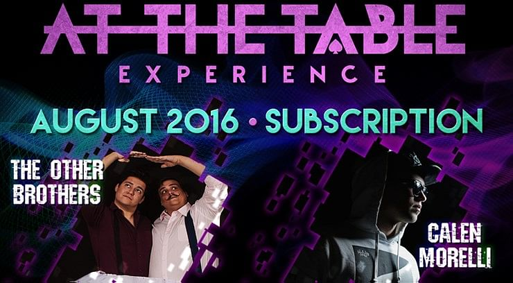 At The Table - August 2016 - magic