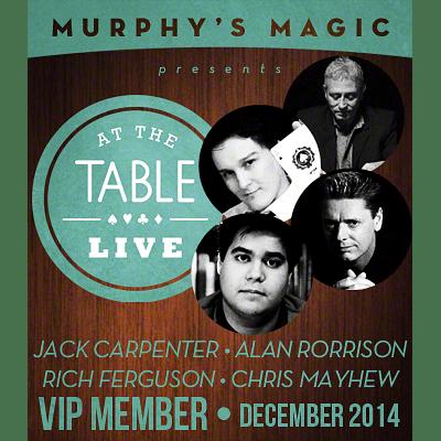 At The Table VIP Member - December 2014  - magic