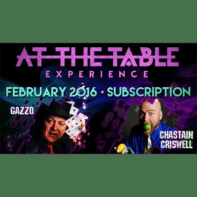 At The Table - February 2016 - magic