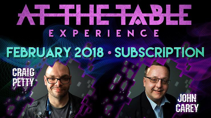 At The Table - February 2018  - magic