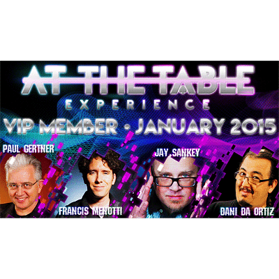 At The Table - January 2015 - magic