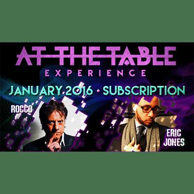 At The Table - January 2016 - magic