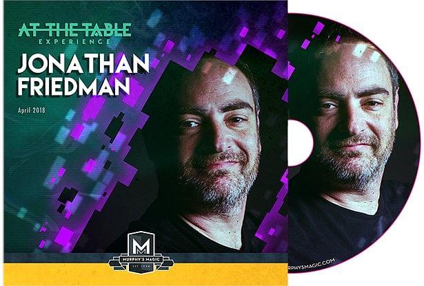 At The Table Live Jonathan Friedman - magic