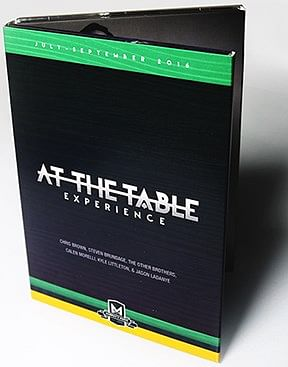 At the Table Live Lecture July-August-September 2016