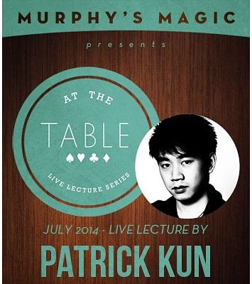 Patrick Kun Live Lecture - magic