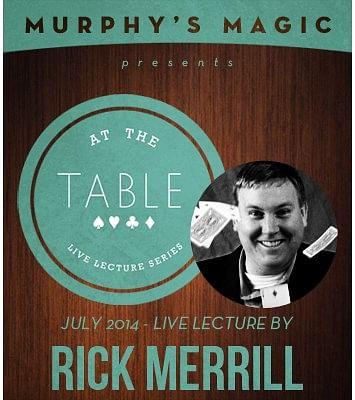 Rick Merrill Live Lecture - magic