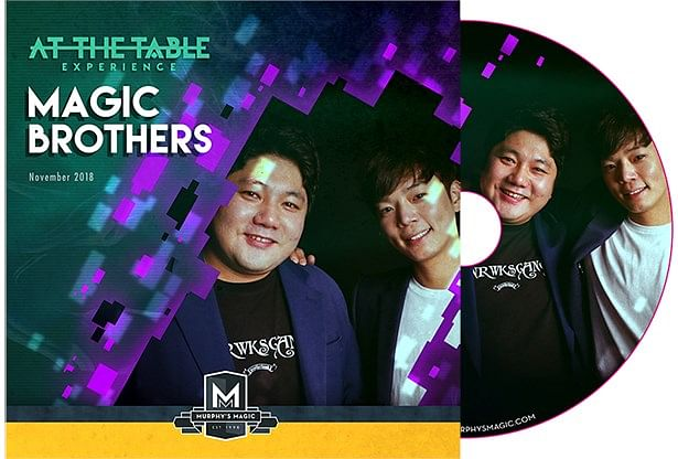 At The Table Live Magic Brothers DVD - magic