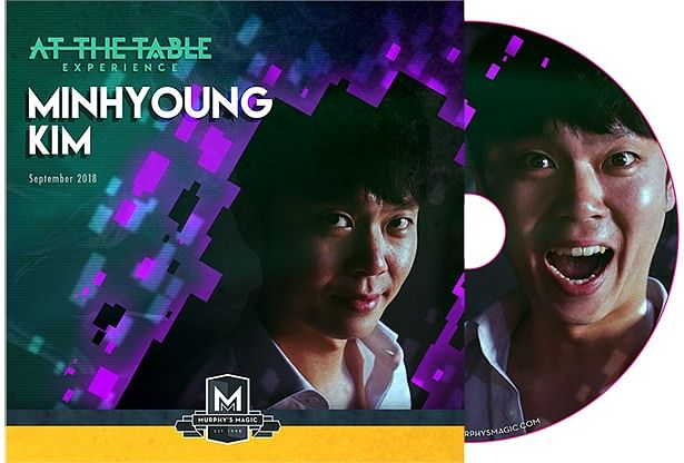 At The Table Live Minhyoung Kim DVD - magic