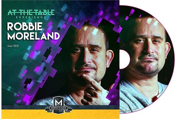 At The Table Live Robbie Moreland - magic