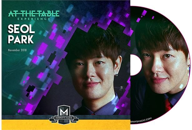 At The Table Live Seol Park DVD - magic