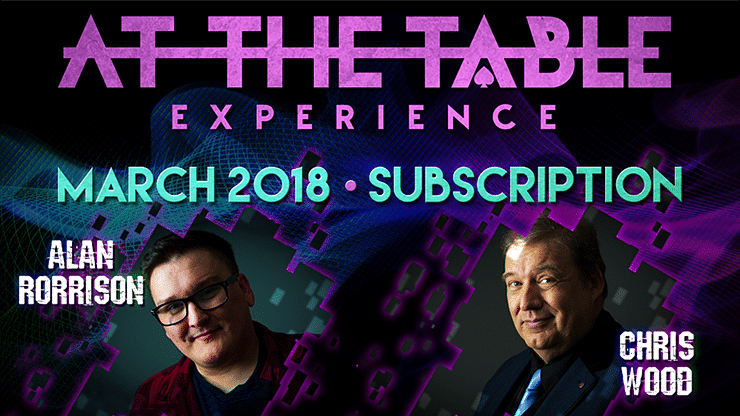 At The Table - March 2018 - magic