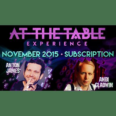 At The Table - November 2015 - magic