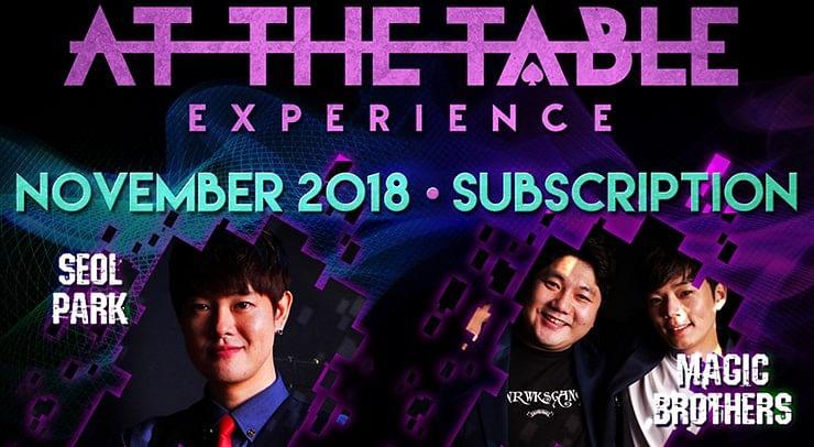 At The Table - November 2018 - magic