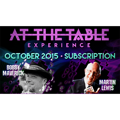 At the Table - October 2015 - magic