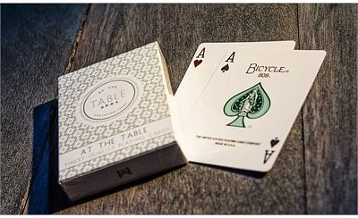 At the Table Playing Cards - magic