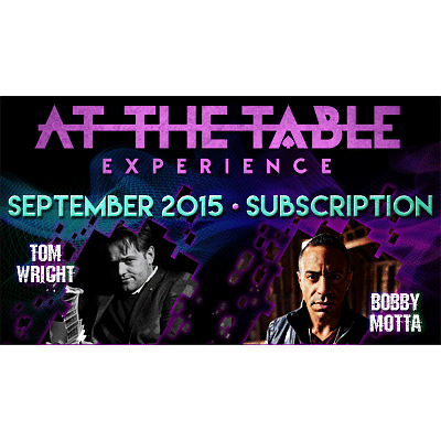At the Table - September 2015 - magic