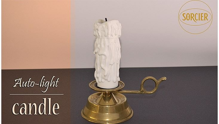 Auto-light Candle with Remote Control - magic