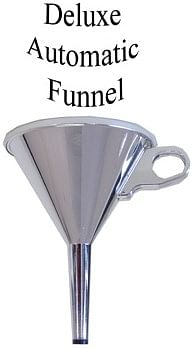 Automatic Funnel - Deluxe Chrome Plated - magic