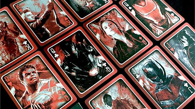 Marvel Avengers Endgame Collectable Playing Cards (Classic Edition)