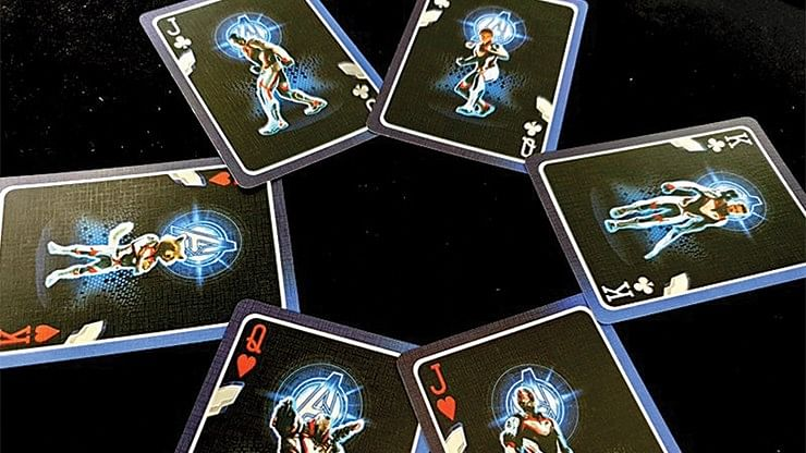 Marvel Avengers Endgame Collectable Playing Cards (Final Edition)