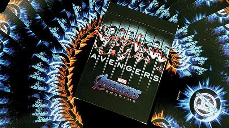 Marvel Avengers Endgame Collectable Playing Cards (Final Edition) - magic