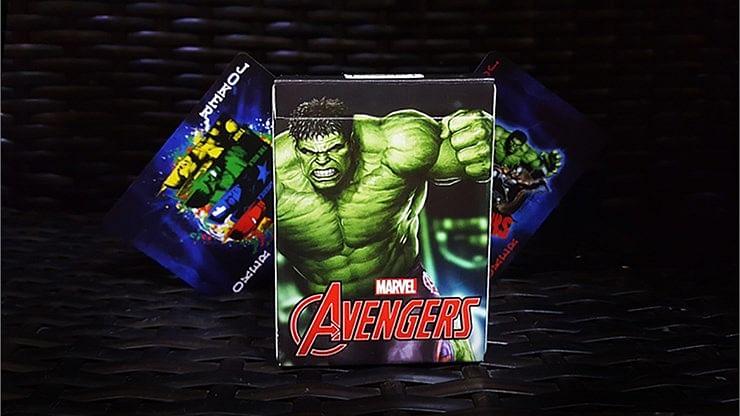 Avengers Hulk Playing Cards - magic