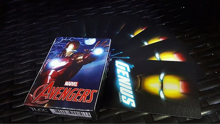Avengers Iron Man Playing Cards - magic