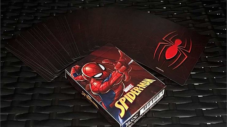 Avengers Spider-Man V2 Playing Cards - magic