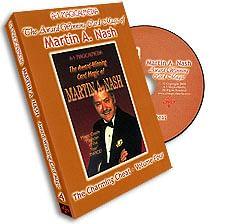 Award Winning Card Magic of Martin Nash - A-1 Volume 4, DVD - magic