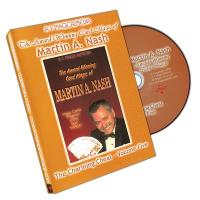 Award Winning Card Magic of Martin Nash - A-1 Volume 5, DVD - magic