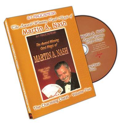 Award Winning Card Magic of Martin Nash - A-1 Volume 5, DVD - magic