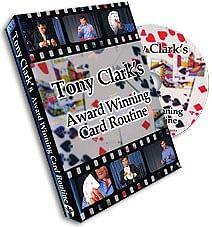 Award Winning Card Routine Tony Clark - magic
