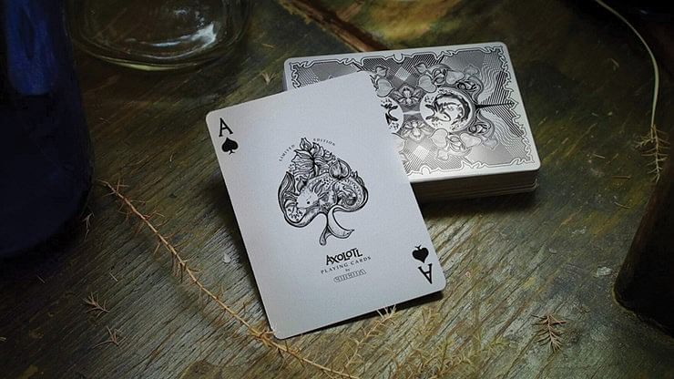 Axolotl Playing Cards