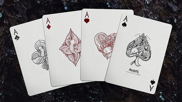 Axolotl Playing Cards