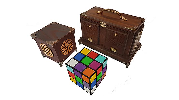 Back of Tora Cube - magic