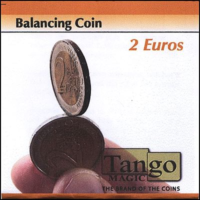 Balancing Coin - 2 Euros - magic