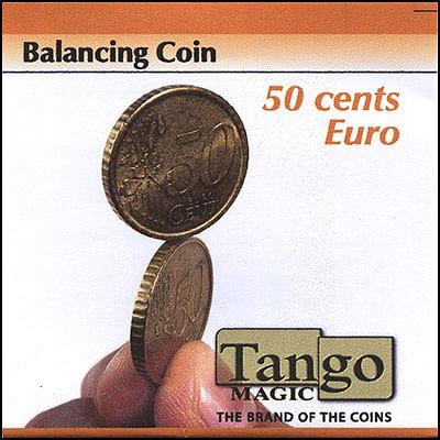 Balancing Coin - 50 Euro Cents - magic