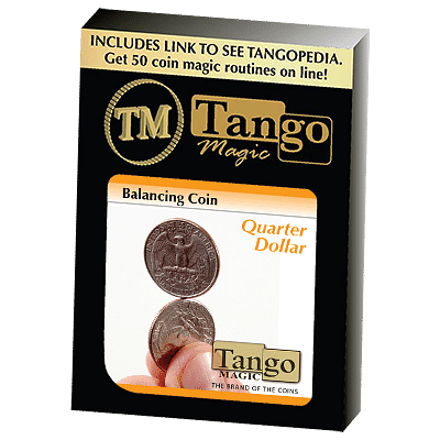 Balancing Coin - Quarter Dollar - magic