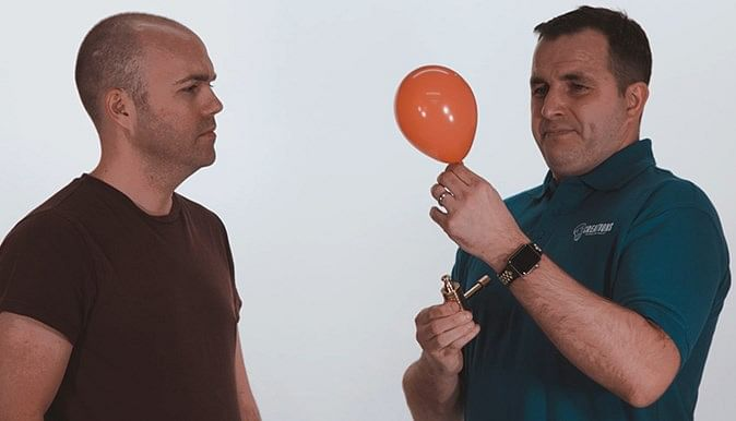 Balloonatic - The Smaller Divers Lung Tester