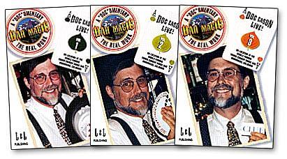 Bar Magic Doc Eason Volumes 1 - 3 - magic