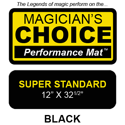 Bartender's Choice Close-Up Mat (BLACK Super Standard - 12x32.5)  - magic